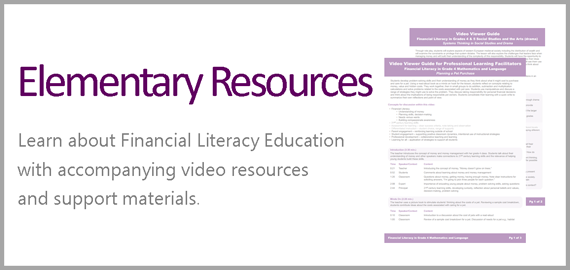 Financial Literacy Home