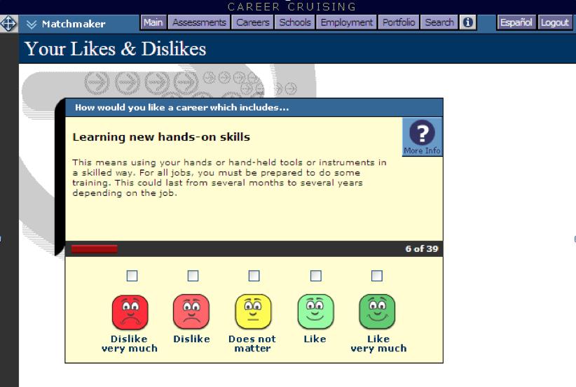 screenshots best assessment tool resume builder career suggestions