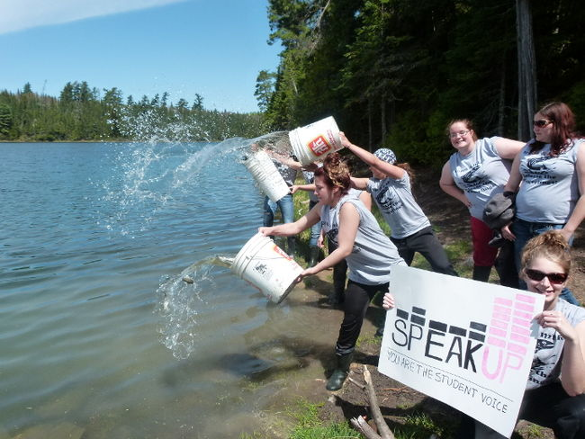 Speakup projects for Fish stocking ca